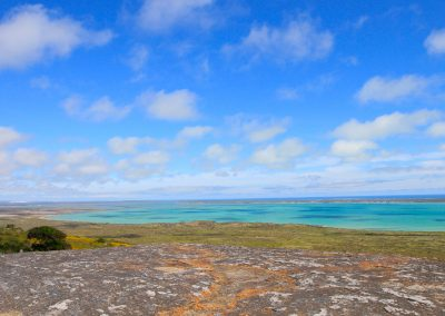 Langebaan lagoon west coast park scenery birding tour south africa